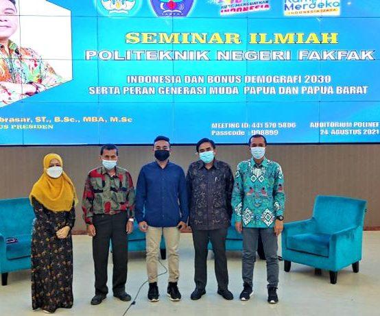Hadirkan Staf Khusus Presiden Republik Indonesia sebagai Narasumber Seminar Ilmiah